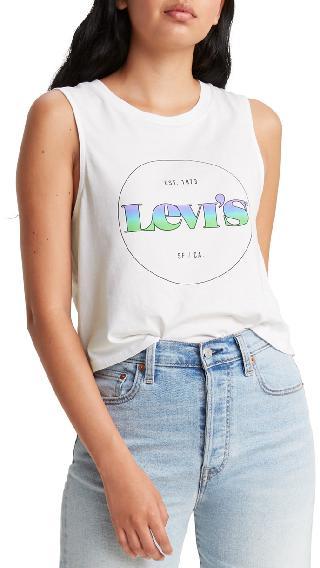 Levi's Cotton Zoey Logo Tank