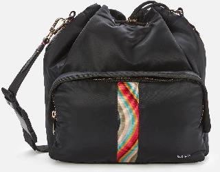 Paul Smith Women's Duffle Bag Nylon - Blacks