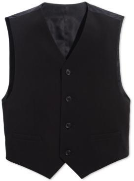 Calvin Klein Big Boys Slim Fit Stretch Suit Vest