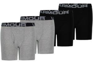 Under Armour Big Boys 4-Pk. Boxer Briefs
