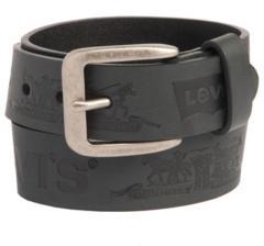 Levi's Big Boys Casual Belt with Iconic Logo Emboss Design