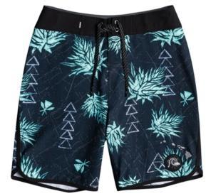 Quiksilver Big Boys Surf Silk Hawaii Scallop Board Shorts