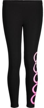 Calvin Klein Performance Big Girls Stacked Logo Leggings