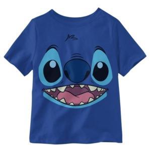 Hybrid Little Boys Stitch Face T-Shirt