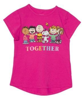 Disney Little Girls Pride Together Short Sleeve Tee