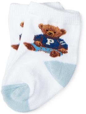 Polo Ralph Lauren Ralph Lauren Baby Boys Teddy Crew Socks Pair