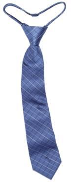 Calvin Klein Big Boys Etched Grid Zipper Necktie