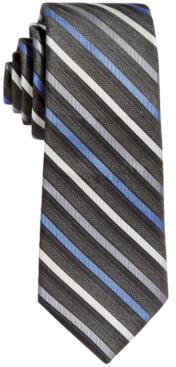 Calvin Klein Big Boys Gemstone Striped Necktie