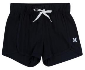 Hurley Big Girls Highwaisted Cabana Shorts
