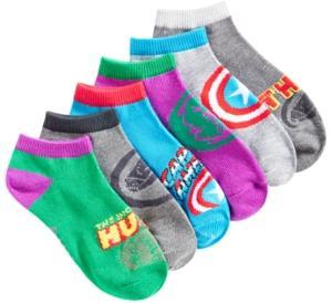 Marvel Boys' 6-Pk. Avengers Socks
