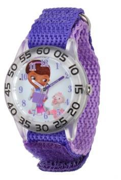 Ewatchfactory Disney Doc McStuffins Girls' Plastic Time Teacher Watch