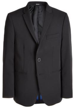 Dkny Big Boys Classic-Fit Stretch Black Suit Jacket