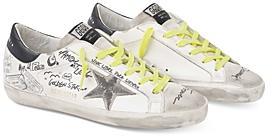 Golden Goose Deluxe Brand Women's Journey Super-Star Grafitti Low Top Sneakers