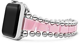 Lagos Smart Caviar Pink Ceramic Apple Watch Bracelet, 42-44mm - 100% Exclusive