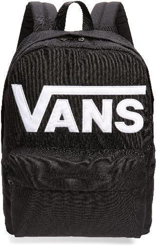 Vans Boy's Old Skool Drop V Canvas Backpack - Black