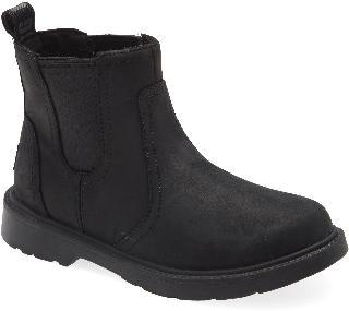 UGGR Boy's UGG Bolden Waterproof Chelsea Boot, Size 4 M - Black