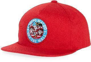 Vans Boy's X Where's Waldo Kids' Trucker Cap - Red