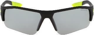 Nike Boy's Junior 68mm Skylon Ace Xv Jr. Gradient Sport Sunglasses - Matte Black/ Volt