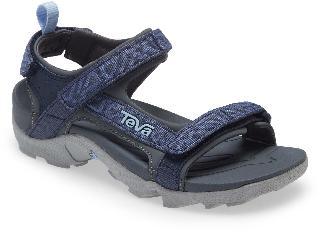 Teva Boy's Tanza Sport Sandal, Size 5 M - Blue