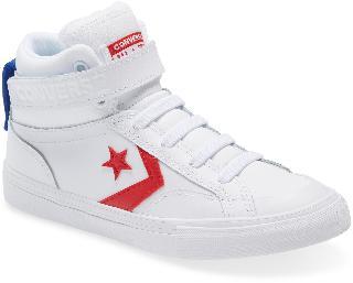 Converse Boy's All Star Pro Blaze Hi Sneaker, Size 5 M - White