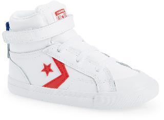Converse Boy's All Star Pro Blaze Hi Sneaker, Size 5.5 M - White