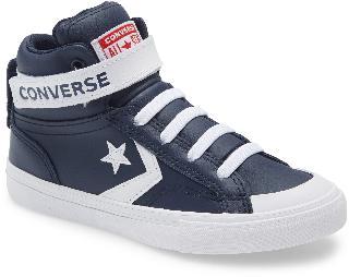 Converse Boy's All Star Pro Blaze Hi Sneaker, Size 3.5 M - Blue