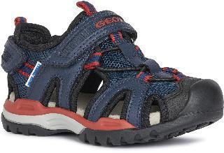 Geox Boy's Borealis Sandal, Size 3.5US - Blue