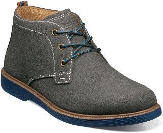 Florsheim Boy's Supacush Jr. Chukka Boot, Size 5 M - Grey