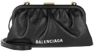 Balenciaga Clutches - Cloud XS Clutch Grained - black - Clutches for ladies