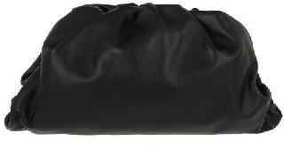 Bottega Veneta Clutches - Pouch Bag Leather - black - Clutches for ladies
