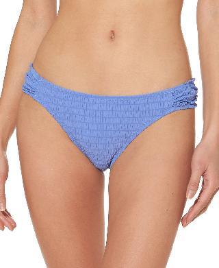 Jessica Simpson Smocked Hipster Bikini Bottoms Women's Swimsuit