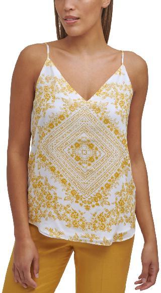 Calvin Klein Floral-Print Camisole Top