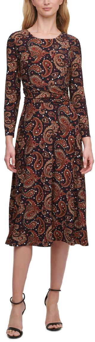 Tommy Hilfiger Ruched-Waist Dress