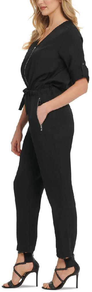 Dkny Foundation Long-Sleeve Jumpsuit