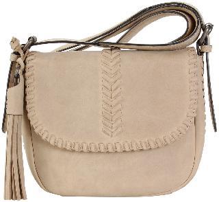 Hadaki Vintage Leather Saddle Bag