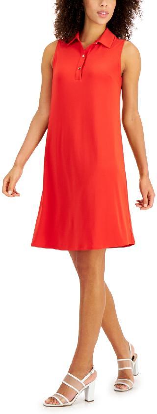 Anne Klein Sleeveless Trapeze Dress