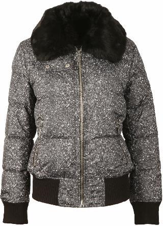 Michael Kors Printed Puffer Jacket